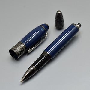 Edição de escritores de luxo Daniel Defoe marca caneta esferográfica com folha de bordo Clipe material escolar escritório MB resina escrever canetas de recarga para o presente