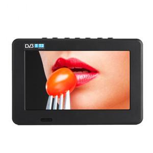 Freeshipping 소형 7inch DVB-T-T2 디지털 방식으로 아날로그 텔레비전 800x480 해결책 Portable 텔레비젼 지원 PVR 지원 USB / TF 카드