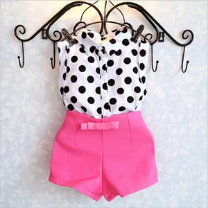 BibiCola Roupa Define Moda Criança Bebés Meninas roupas de verão Conjuntos 2pcs roupa Summer Girls Set Crianças Moda Suit Set Treino Set
