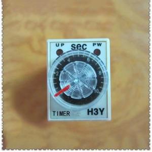 الوقت صغيرة ترحيل H3Y تأخير الموقت التقوية 380V AC مع أو بدون H3Y-2 قاعدة تأخير الوقت 1S-1H