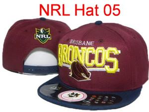 Venta caliente NRL South Sydney Rabbitohs Sombrero Gorras de fútbol Snapbacks Sombreros Cartoon Logo Brisbane Broncos Moda Hip Hop