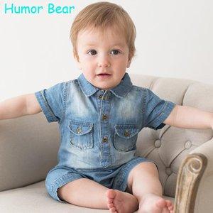 Humor Bear NEW Комбинезоны Baby Boy Одежда Ковбойские комбинезоны Newborn Gentleman Style Повседневная одежда Одежда для мальчиков Детская одежда