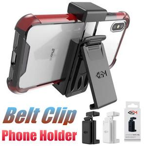 Soporte universal para teléfono con pinzas para el cinturón Soporte giratorio para teléfono móvil para Samsung Note 9 S8 iPhone XS para clip de cinturón para hombre