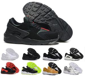 Los más nuevos Running Shoes para hombres mujeres, verde blanco negro Rose Gold Sneakers Triple Huaraches 1 zapatillas huraches Zapatos deportivos