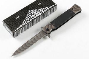 Nova Sog KS931A Assistida Rápido Faca Dobrável Aberta 440C Bade G10 + Folha de Aço Handle Liner Bloqueio EDC Canivetes