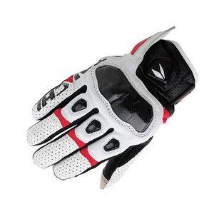 2015 son motosiklet yarış eldivenleri RS tai chi RST410 Güney Kore ithal deri delme karbon fiber motosiklet eldiven 4 renk boyutları M,