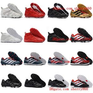 2018 grapas de fútbol para hombre Predator Accelerator DB TF IC FG zapatos del fútbol de interior Predator 18 tango de precisión botas de fútbol botas de futbol caliente