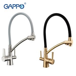 filtro dell'acqua Gappo rubinetti rubinetti cucina con stoviglie miscelatore rubinetto miscelatore del dispersore rubinetti filtro depuratore GA4398