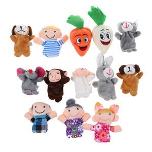 Bébé Enfants Jouet éducatif Finger Puppet jouets en peluche garçon fille