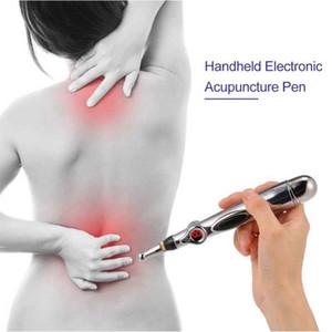 Penna di agopuntura elettronica Palmare Penna di massaggio di guarigione Penna di testa di corpo Strumento di massaggio di sollievo dal dolore Magnete Terapia Penna di energia meridiana
