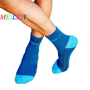 Calcetines de algodón MEILEIYA New Socks Fashion Men Calzado de tubo medio Harajuku Style Male 5 Estilos High-End 20 Pares = 40 Piezas