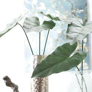 80 cm Sentimiento real Anthurium artificial Licencia artificial realista para la boda casera Decoraciones del partido fábrica directamente venta