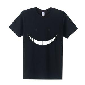 Estate Nuovo 2018 Anime Assassination Classroom Top Tee Shirts Uomo Cotone Korosensei Funny Cute Cartoon Print T Shirt Uomo