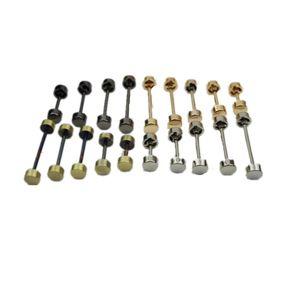 DIY bag buckle wheel buckle for handbag handbag repair sewing metalware barbell buckle garment accessories