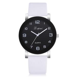 LVPai Frau Uhr Mode Luxus Damen Quarz Armbanduhr Top Marke PU Lederbanduhr Frauen Uhren Reloj