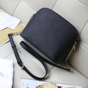 O envio gratuito de 2020 bolsas de moda europeus e americanos estilo 13 cor do saco shell letra decorativa cadeia de bolsa de ombro de couro PU