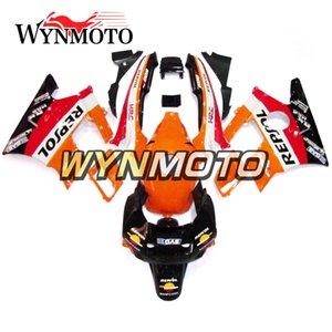 Komplette Verkleidungen für Honda CBR600F2 1991 - 1994 91 - 94 Kunststoff Karosserie Verkleidungen Verkleidung Verkleidungen Verkleidungen Orange Schwarz Rot