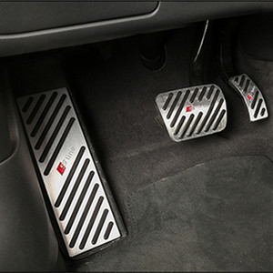 Для Покрытия Audi A4 A5 A6 A7 A8 Педали Q5 Q7 Foot Pad Cover Fit Gas Brake Rest Педаль Kit Accelerator Steel Covers