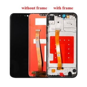 10pcs per Huawei P20 Lite Display LCD + Sostituzione touch screen Digitizer Assembly per Huawei Nova 3E 5.84inch schermo LCD con la struttura