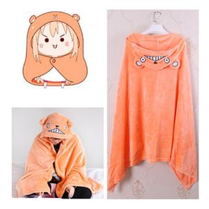 Spedizione gratuita Himouto! Umaru-chan mantello anime Umaru chan Doma Umaru costume cosplay flanelle mantelli coperta morbido berretto con cappuccio