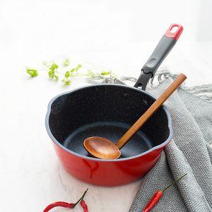 Pot Kapak Olmadan Tava Yapışmaz No Oil-Kızartma Biftek Yumurta Wok Taş Cook Pan Genel Kullanım Için Gaz Ve İndüksiyon Ocak