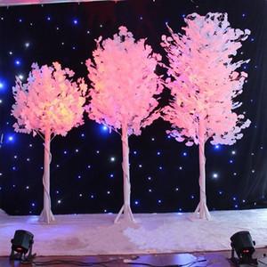 الجنكه الاصطناعي الأبيض بيلوبا ليف البكر الأشجار الأعمدة الرومانية الطريق استشهد لحفل زفاف افتتح الدعائم