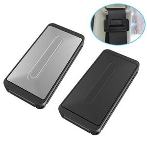 2 couleur clip de ceinture de sécurité de voiture réglable universel véhicule ceintures de sécurité titulaire titulaire bouchon boucle pince de voiture style