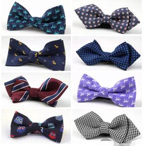 موضة جديدة للأطفال طفل بنين ربطة تقليد الحرير الرسمي سهرة القوس التعادل الاطفال المطبوعة اكسسوارات الزفاف ربطة العنق 68 اللون