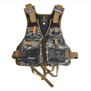 Lixada Fly Рыбалка жилет рюкзак быстросохнущие сетки с Mutil карман Рыбалка жилет куртка Lifesafty жилет для Pesca открытый