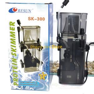 Resun SK-300 3.5 W 300L / H Pendurar nas costas Skimmer Proteína Para 95L Nano Marinha Coral Bombas de Tanque De Água Salgada em Quarentena