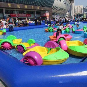 (전문점) 대형 야외 수영장 팽창 식 얕은 수영장 어린이 수영장 및 성인 수영 0.6 mm PVC 1 M 높이