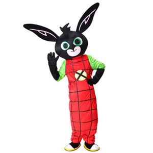 2018 Costume de Mascotte Bing Bunny de haute qualité Fancy Dress Christmas pour l'événement de la fête d'Halloween