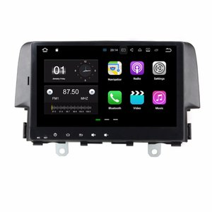 "1024 * 600 Quad core 9 ""Android 7.1 Car DVD Head Unit Player para Honda Civic 2016 con 2GB RAM GPS Radio Bluetooth WIFI 16GB ROM"