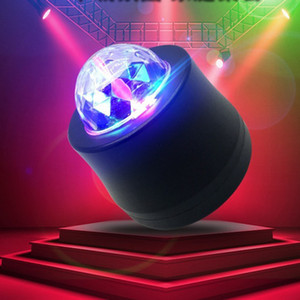Mini Car DJ Explosion atmosphere lamp, Sound Activated Multi-coloured Ball Light,Car Decoration Light,Led Stage Light,Christmas Lights
