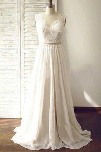 Simple Chiffon Wedding Dress Bridal Gown Bride Wear Dress For Bride