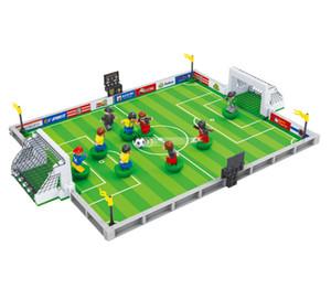 Football World Cup King Lotta per la saggezza Collezionando blocchi di costruzione Giocattoli per ortografia di scienza e istruzione per bambini