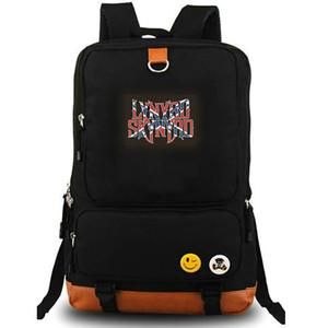 Lynyrd Skynyrd sırt çantası Tatlı ev daypack Alabama rock grubu müzik schoolbag Laptop sırt çantası Tuval okul çantası Açık gün paketi