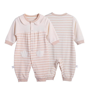 Newest Newborn Baby Girl Boys Long-Sleeve Bear Printed Spring Autumn Infant Jumpsuit Body Rompers Outfits Clothes