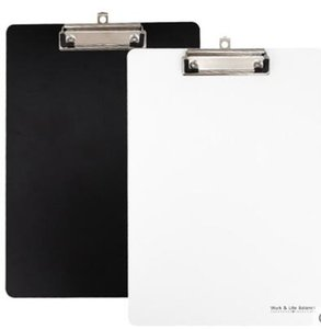 Simple and black and white impression folder A4 folder writing folder writing pad office stationery