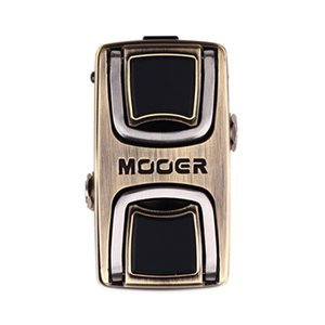 Mooer The Wahter Wah Effect Guitar Pedal Provide Perfect Wah Tone Run for Your Solo When Play Treble or Bass Free Connector