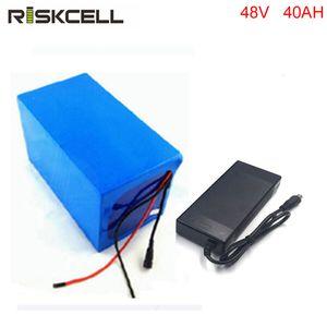 Bateria de 48V 40Ah para 48v Bafang / 8fun 1000w meados de / motor central da movimentação bateria de 48v 40AH para a bicicleta elétrica com BMS