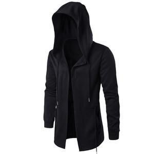 Men Hooded Sweatshirts 다크 시스템 가운 힙합 맨틀 후드 Assassin 's Creed Jacket 패션 자켓 긴 소매 망토 남성 코트 Outwear