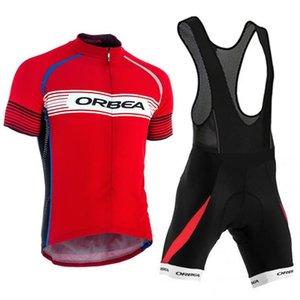 Novo Ropa Ciclismo 2021 Orbea Pro Ciclismo Jersey Road Bike Wear Bicycle Roupas Maillot Ciclismo Homens Ciclismo roupas Ternos Y21030824