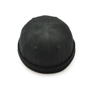 Wassermelonen-Hut-Mann-Kappen-Hüte Feste Mützen-Hüte für Mann-Weinlese-Winter Casquette Gorras alte Männer-Schwarz-Kappen