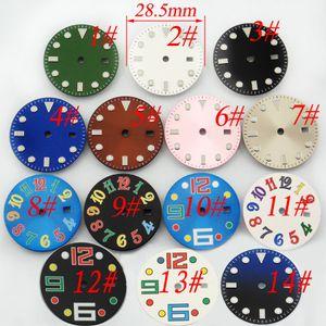 무균 28.5mm 시계 다이얼 Fing Mingzhu DG2813 DG3804 ETA 2836 Miyota 8205/8215 운동 40mm 시계 케이스 스테인리스 다이얼 손목 시계 P510