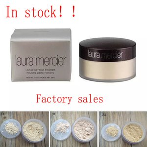 Factory Free Ship Laura Brands Foundation Loose Setting Powder Fix Makeup Fully Cover Powder Hide Pore and Wrinkles Oil Control Concealer
