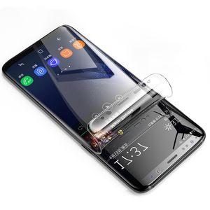 Pet Soft пленка для Samsung Galaxy Note 9 8 S6 S7 край Защитная пленка для Galaxy S8 S8 PLus Полный экран Защитная пленка не закаленное стекло