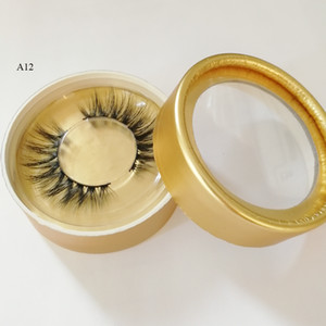 3d fiber lash 3D Faux Mink Hair False Eyelashes Wispies Long Cross Lashes Handmade Eye Makeup Extension Lashes 9