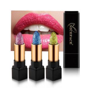 Lips Makeup Discolor Diamond Lipstick 7 Colors Glitter Waterproof Shiny Temperature Change Lip Stick Beauty Cosmetics