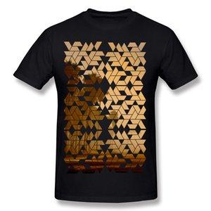 Популярные мужской процент хлопок закат футболки мужской шею темно-синий с коротким рукавом футболки очень большой размер Brithday футболки